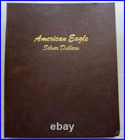 1986 2021 TY1 AMERICAN 1oz SILVER EAGLES COMPLETE SET 36 COINS