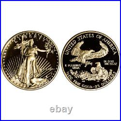 1987 US American Gold Eagle Proof Two-Coin Set