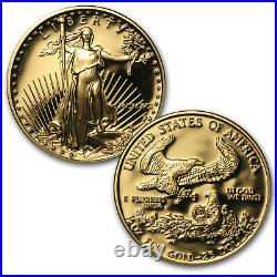 1991 4-Coin Proof Gold American Eagle Set (withBox & COA) SKU #4893