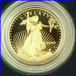 1997 US Mint Gold American Eagle 4 Coin Proof Set