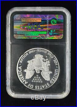 2011 American Silver Eagle 25th Anniv. 5 Coin Set NGC MS70 PF70 Early Releases