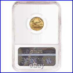 2020 $5 American Gold Eagle 1/10 oz. NGC MS69 Brown Label
