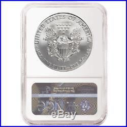 2020 (P) $1 American Silver Eagle NGC MS70 Emergency Production Brown Label