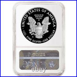 2020-S Limited Edition Proof Set $1 American Silver Eagle NGC PF70UC FDI Trolley