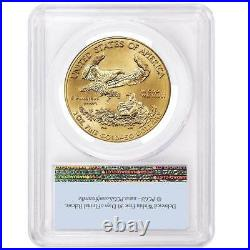2021 $50 Type 1 American Gold Eagle 1 oz. PCGS MS70 First Strike Flag Label
