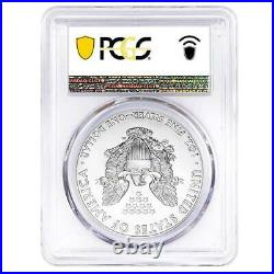 2021 American Silver Eagle PCGS MS70 FDOI In US Flag Holder USA Coin