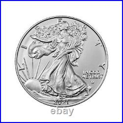 2021 American Silver Eagle Type 2 NGC MS70 First Day of Issue 1st Label