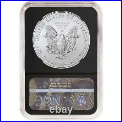 2021 (S) $1 American Silver Eagle NGC MS70 Emergency Production ALS ER Label Ret