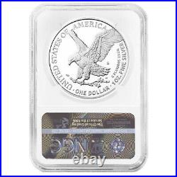 2021-S Proof $1 Type 2 American Silver Eagle NGC PF70UC ER Blue Label