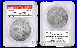 2021 (S) Silver Eagle PCGS MS70 First Day of Issue Jim Peed Emergency Issue
