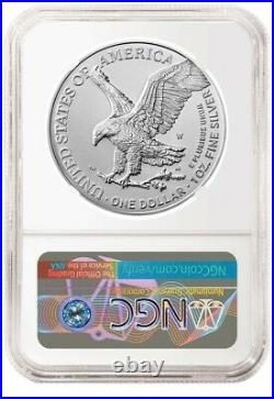 2021 W Burnished American Silver Eagle Type 2 NGC MS70 FR PRESALE