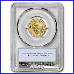 Pre-Sale 2021 1/4 oz American Gold Eagle MS-70 PCGS (FirstStrike, Type 2)