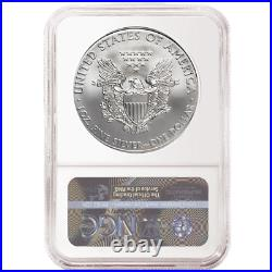 Presale 2021 (S) Silver Eagle NGC MS70 First Day of Issue Emergency Production