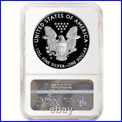 Presale 2021-W Proof $1 American Silver Eagle NGC PF70UC Brown Label