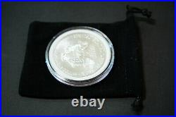 Rolling Stones American Silver Eagle 1oz. 999 Limited Ed Silver Dollar Coin