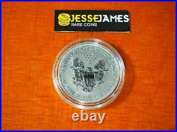 Spotted 2006 P Reverse Proof Silver Eagle From 20th Anniversary Set In Capsule